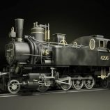 MAV 40 Steam Locomotive Tank Engine Free 3D model