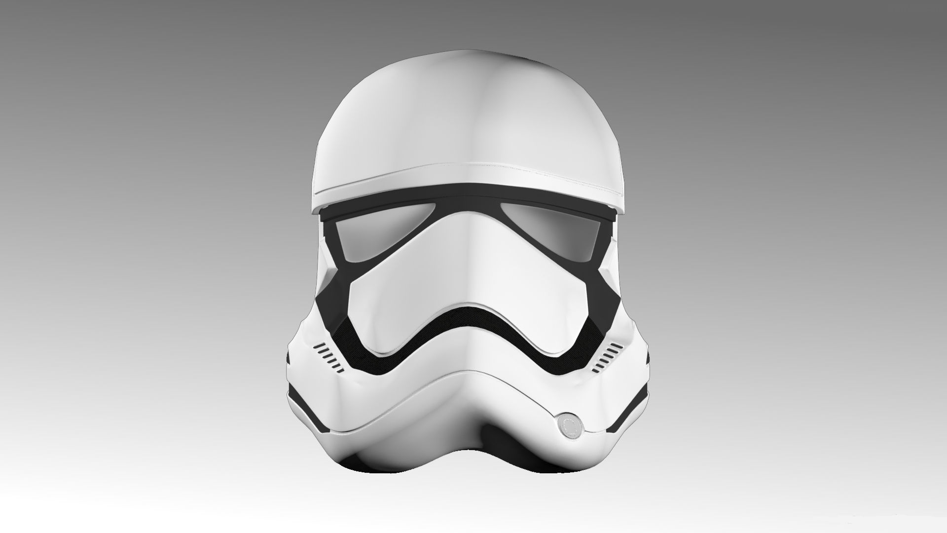 First Order Stormtrooper Helmet free VR / AR / low-poly 3d model