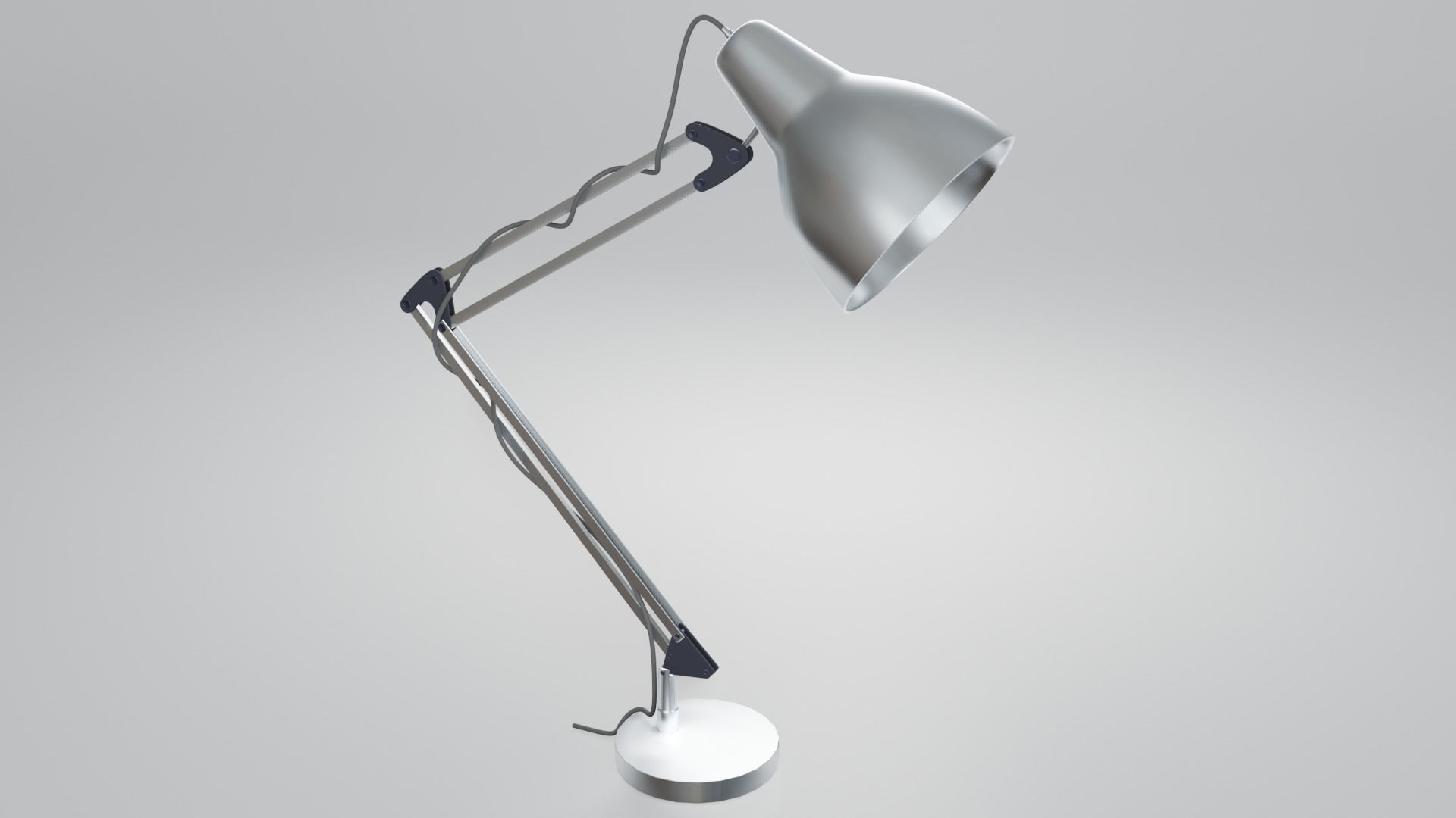 Simple Desk Lamp Free 3D model