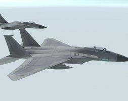 F 15 C Eagle free VR / AR / low-poly 3d model