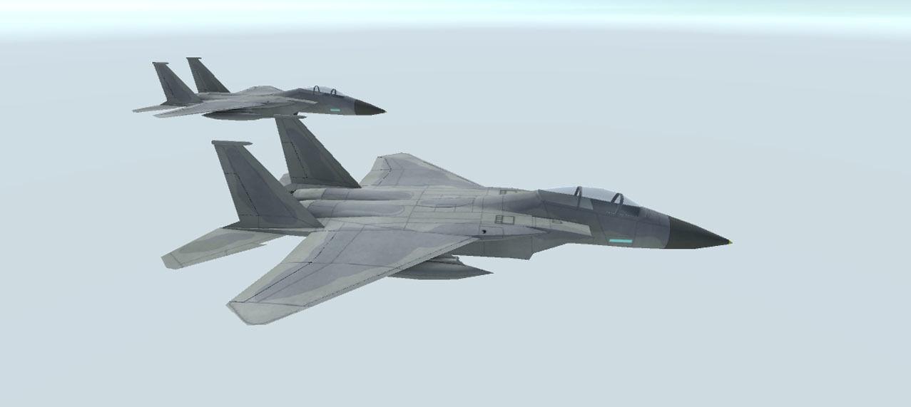 F 15 C Eagle free VR / AR / low-poly 3d model
